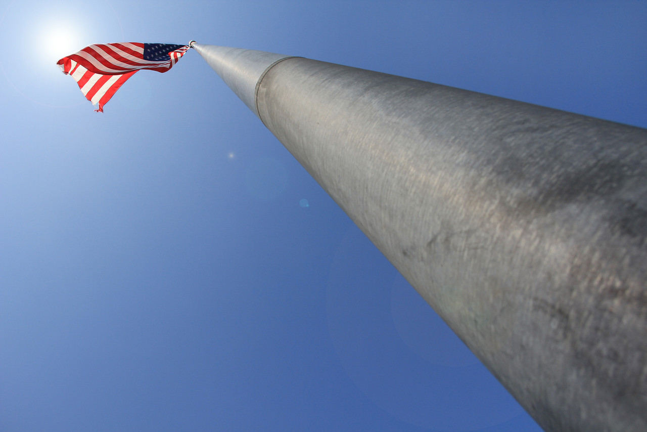 Flagpole @ High Street Landing - Portsmouth, Virginia