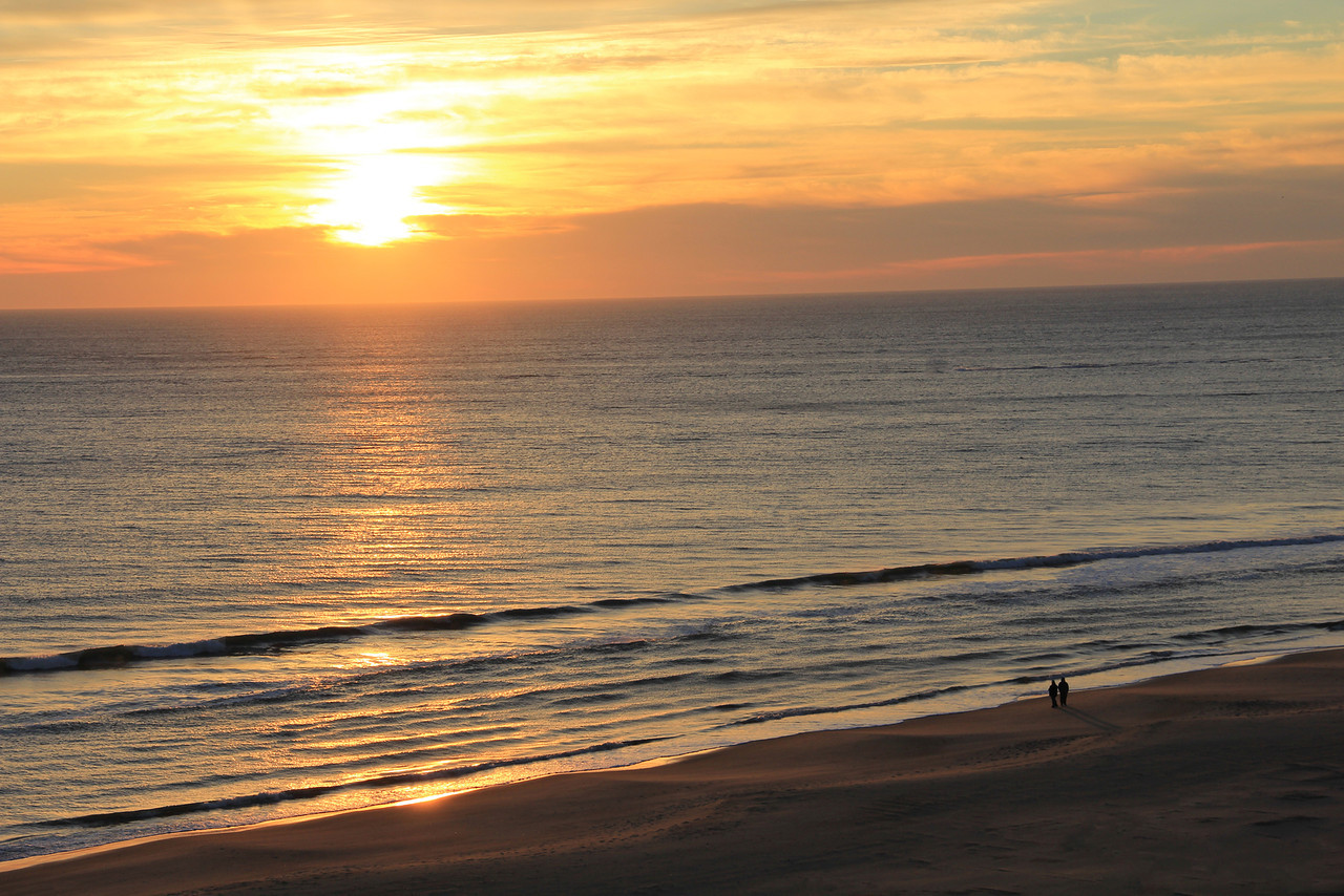 Virginia Beach Oceanfront Sunrise 2013