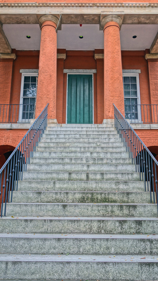 Steps the Portsmouth Art & Cultural Center