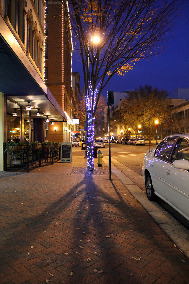 Holiday Lights on Granby