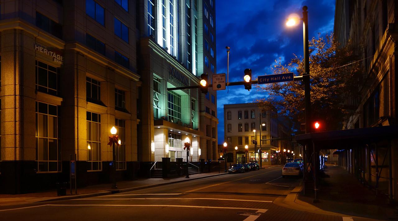 Corner of Granby St & City Hall Avenue